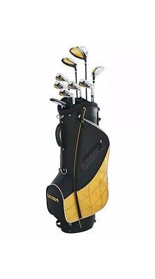 Mens Complete Golf Set 13 Piece Beginner Golfer Right Handed Ultra Wilson BagNew