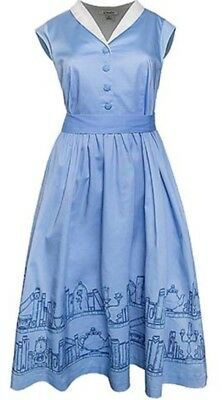 NWT DISNEY PARKS BELLE BLUE BEAUTY AND THE BEAST THE DRESS - Beauty And The Beast Blue Dress