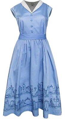 LE BLUE BEAUTY AND THE BEAST THE DRESS SHOP (Blue Belle Kleid)