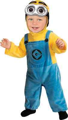 Minion Dave Despicable Me Cartoon Fancy Dress Up Halloween Toddler Child Costume - Halloween Costume Despicable Me