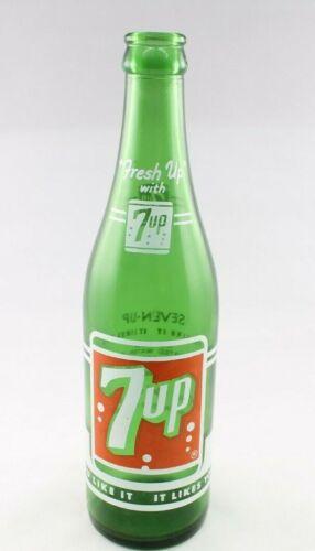 Vintage 7up Soda Pop Bottle 12 oz