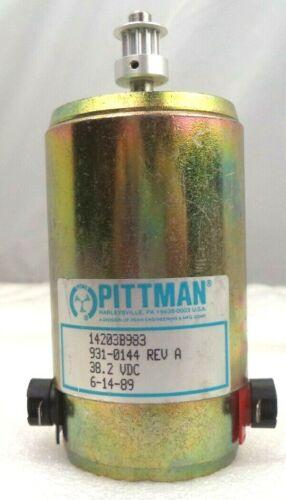 Ametek Pittman Motors 38.2 VDC Stepper Motor, p/n 14203B983