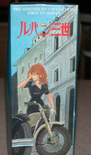"""Lupin III FUJIKO MINE 11"""" Pre-Assembled Collection First TV Series Model NEW"""