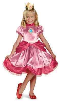 Princess Peach Baby Costume (Princess Peach Toddler Super Mario Brothers Nintendo Halloween Child)