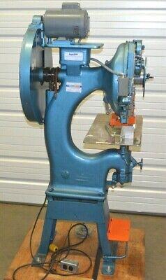 Interlake N3b 2-12h Heavy Duty Stitcher Wire Industrial Stapler See Video