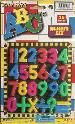 Fun With ABC's Numbers - 26 Piece Set