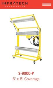 Baking heater great for automotive spray booth
