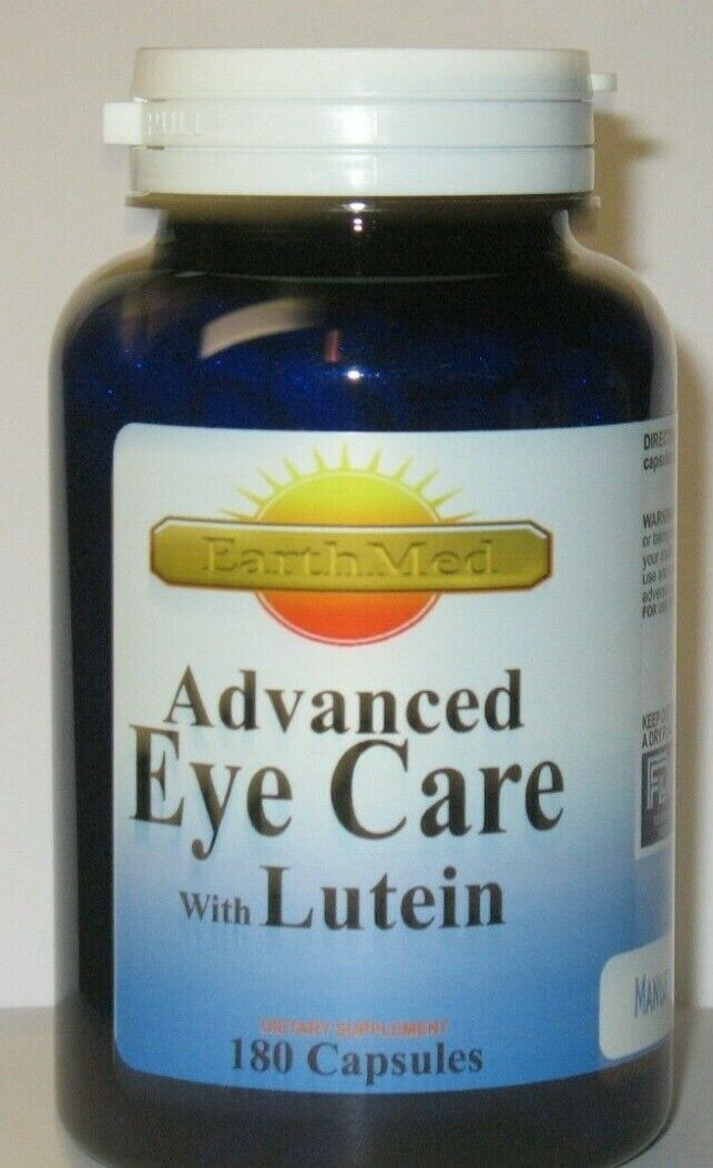 Eye Care W/40mg Lutein, L-Glutathione, Billberry, Eyebright,