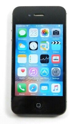 Apple iPhone 4s - 32GB - Black (AT&T+Unlocked) A1387 (CDMA + GSM)