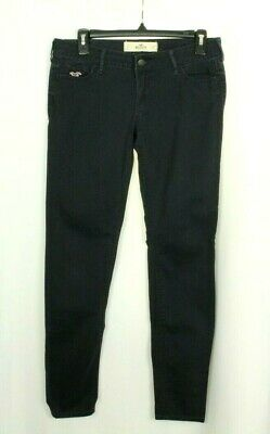 Hollister Womens Casual Pants Blue Skinny Stretch Size 5