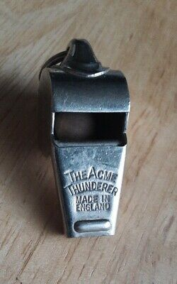 Vintage The Acme Thunder Whistle