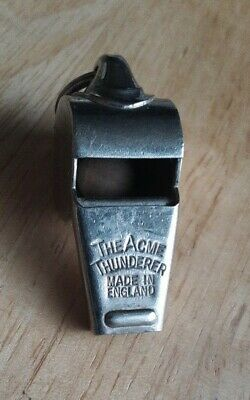 Vintage The Acme Thunder Whistle