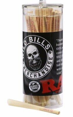 RAW Classic Lean Size Pre-Rolled Cones (100 Pack) (Paper Cones)