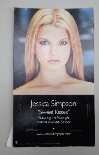 JESSICA SIMPSON-SWEET KISSES-RECORD STORE COUNTER DISPLAY-promotional 1999 DFGH