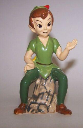 "Vintage Disney Peter Pan 5"" Ceramic Figurine Japan"