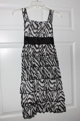 Girls Black and White Party Dress Size 16 - Black And White Dresses Girls