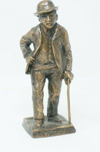 "Tom Knapp "" Bat Masterson "" bronze sculpture Dated 1981"