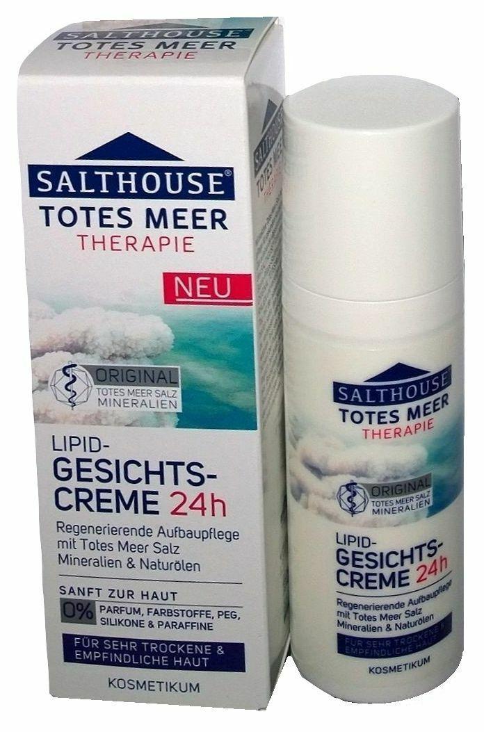 SALTHOUSE® Totes Meer Therapie Lipid-Gesichtscreme für sehr trockene Haut 50ml