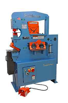 New Scotchman 50514-ec 50 Ton Ironworker Free Shipping