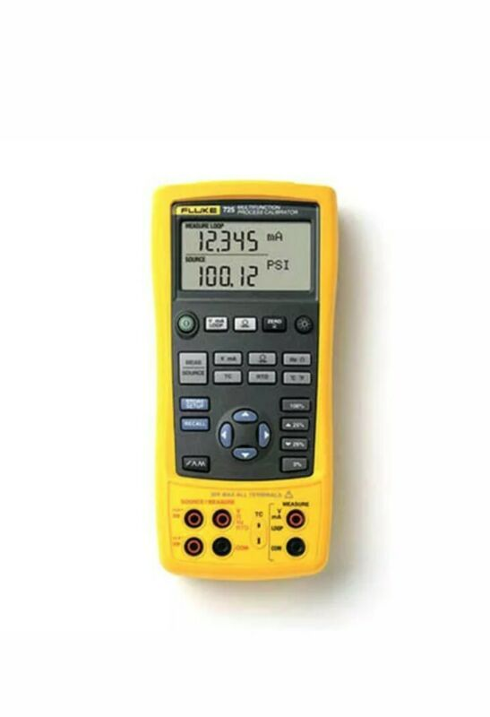 Fluke 725 MultiFunction Process Calibrator with Calibration Certificate