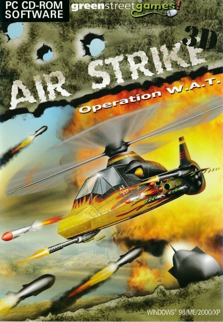 Airstrike 3d Top Down Helicopter Shooter Pc Brand New Ebay
