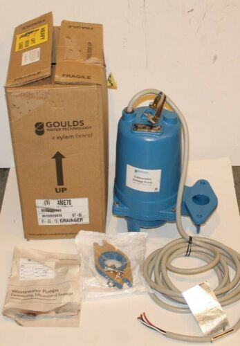 WS2034BHF Goulds 2 HP 460 Volts Submersible Sewage Pump 3 Phase