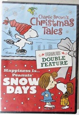 Charlie Brown's Christmas Tales + Peanuts Snow Days (DVD, 2017) *READ BELOW* ()