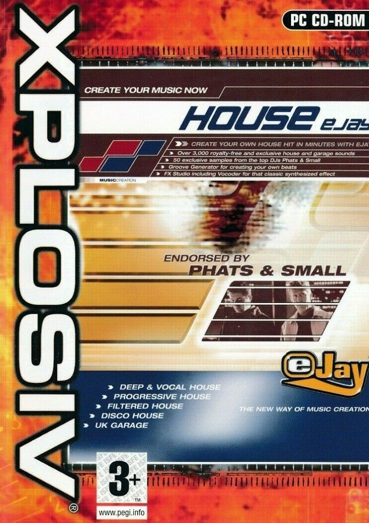 Details about House Ejay - Music Creation Software - UK Garage - PC CD-ROM  (New & Sealed)