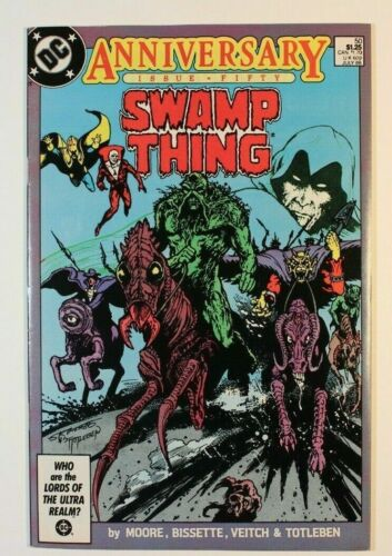 Swamp Thing #50, VF/NM 9.0, First Appearance Justice League Dark