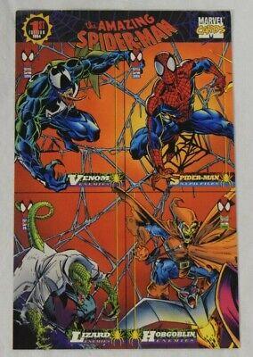 Spiderman Venom 1994 Fleer Marvel The Amazing Spider-Man Promo Sheet Uncut AG813