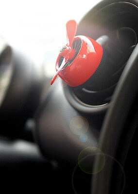 Car Vent Clip Perfume Diffuser Best Car Air Freshener Scent Aroma Fragrance Red
