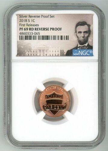 2018 S LINCOLN PENNY 1C REVERSE PROOF NGC PF69RD FIRST RELEASES 070