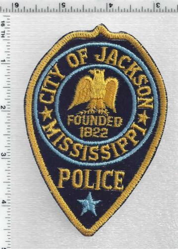 City of Jackson Police (Mississippi) 4th Issue Shoulder Patch