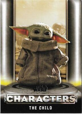 2020 Topps Star Wars The Mandalorian Season 1 Characters C-2 The Child