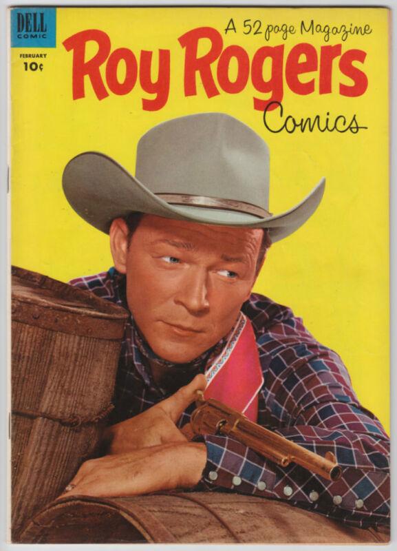 ROY ROGERS COMICS # 62 Dell Western Comic Book 1953