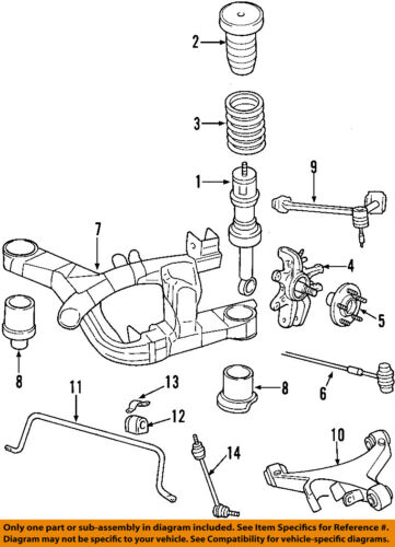 FORD OEM Rear-Adjust Link 6W4Z5B551AA | eBayeBay