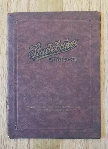 1923 Studebaker Light Six Sales Catalog