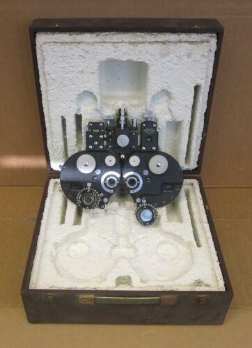 Stearman Refractor Head Model 3878 Ophthalmology Optometry Opticians Equipment