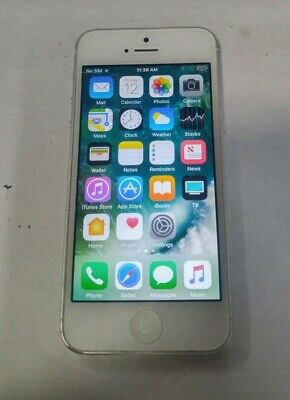 Apple iPhone 5 - 64GB - White - Factory Unlocked- Fully Functional