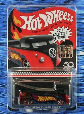 2018 Hot Wheels Volkswagen Drag Truck Kmart Mail In Collector Edition Box Ship