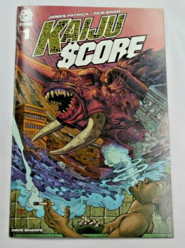 Kaiju Score #1 - 1:15 Nelson Variant Cover - Aftershock Comics (2020) - Sony