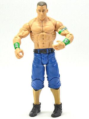 WWE Series John Cena Wrestling Action Figure Mattel 2011 Cenation Green Arm band ()