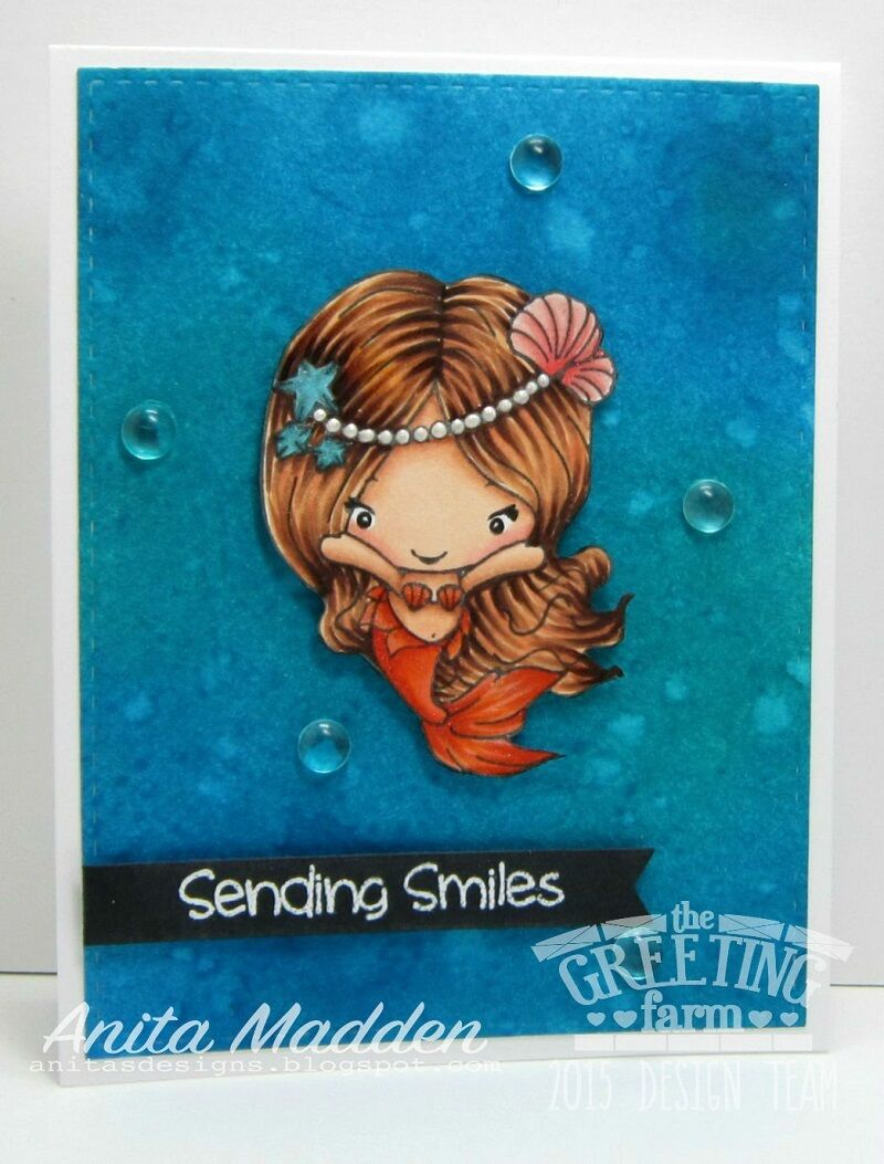 Sealia Merbean The Greeting Farm Cling Rubber Stamp Stamping Craft