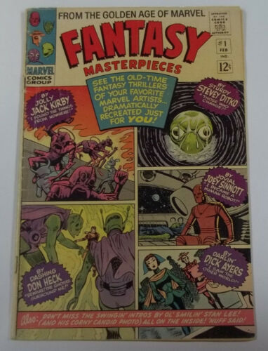 Fantasy Masterpieces #1 (1st Print) 5.0 VG/FN Steve Ditko Story