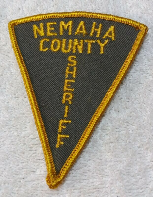 Vintage Nemaha County Sheriff Kansas Police Shoulder Patch KS
