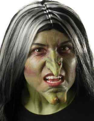 Witch Nose Wicked Evil Green Dress Up Halloween Costume Makeup Latex - Wicked Witch Nose