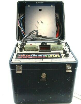 Tempo Instrument Model 651730d Universal Network Protector Relay Test Set