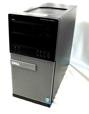 Dell OptiPlex 9020 MT Intel i7-4790 3.6GHz 8GB DDR3 WIN8COA NO HDD