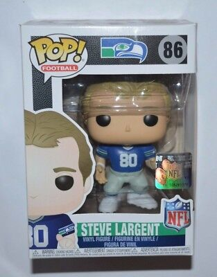 Funko Pop! Football NFL / Steve Largent Seattle Seahawks Nr.86 Vinyl-Figur