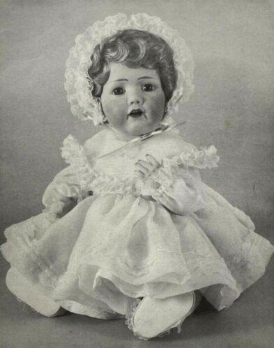 """Vintage Byron Doll Sewing Pattern BY-21 Dress Fits 17.5"""" Hilda Doll Fashion 8848"""